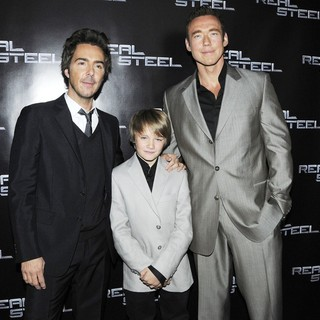Shawn Levy, Dakota Goyo, Kevin Durand in Canadian Premiere of Real Steel