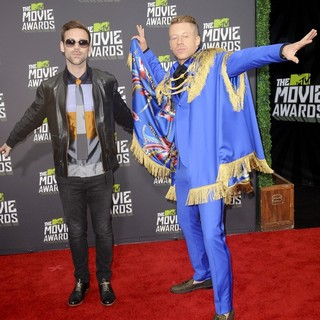 Ryan Lewis, Macklemore in 2013 MTV Movie Awards - Arrivals
