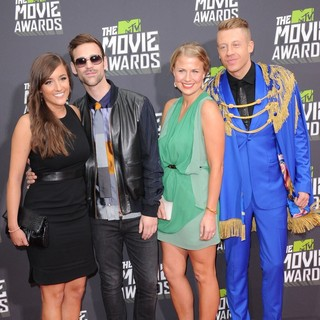 Macklemore, Ryan Lewis in 2013 MTV Movie Awards - Arrivals