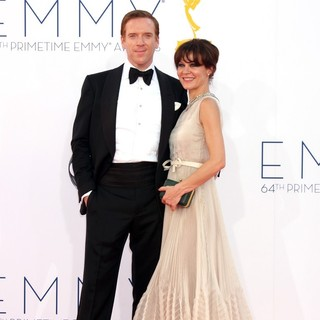 Damian Lewis, Helen McCrory in 64th Annual Primetime Emmy Awards - Arrivals