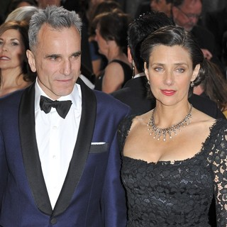 Daniel Day-Lewis, Rebecca Miller in The 85th Annual Oscars - Red Carpet Arrivals