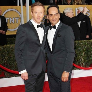 Damian Lewis, Navid Negahban in 19th Annual Screen Actors Guild Awards - Arrivals