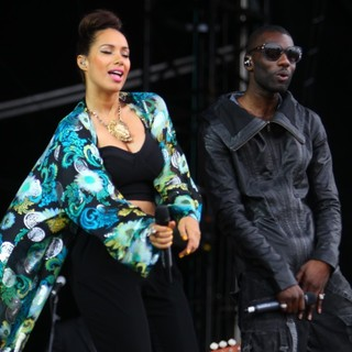 Leona Lewis, Wretch 32 in BBC Radio 1's Hackney Weekend - Day 1