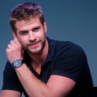 Liam Hemsworth in Apple Store Soho Presents: Meet The Filmmakers - Paranoia