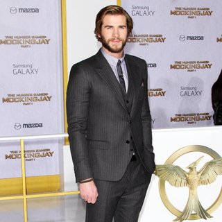 Liam Hemsworth in Los Angeles Premiere of The Hunger Games: Mockingjay, Part 1 - Arrivals