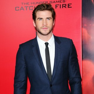 Liam Hemsworth in The Hunger Games: Catching Fire New York Premiere