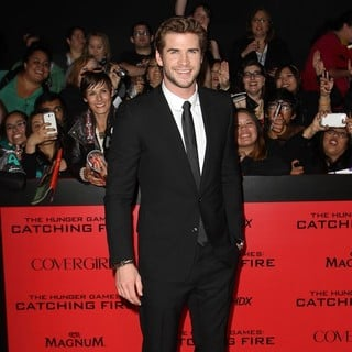 Liam Hemsworth in The Hunger Games: Catching Fire Premiere