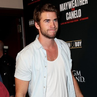 Liam Hemsworth in ViP Pre-Fight Party for Showtime PPV's Presentation of THE ONE:  Floyd Mayweather VS. Canelo Alvarez