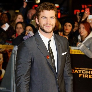 Liam Hemsworth in The World Premiere of The Hunger Games: Catching Fire - Arrivals