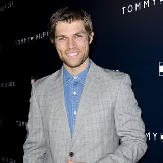 Liam McIntyre in Party to Celebrate The Opening of The New Tommy Hilfiger West Coast Flagship Store