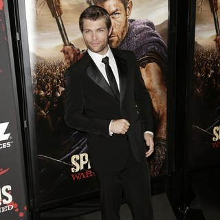 Liam McIntyre in U.S. Premiere Screening of Spartacus: War of the Damned