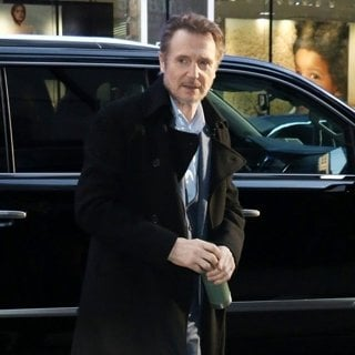 Liam Neeson at Good Morning America