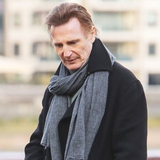 Liam Neeson-Filming Love Actually