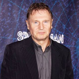 Liam Neeson in Opening Night of The Broadway Musical Production of Spider-Man Turn Off The Dark
