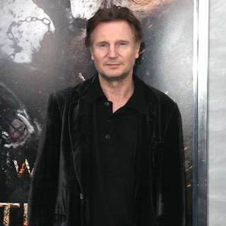 Liam Neeson in The World Premiere of Wrath of The Titans