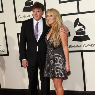 Frank Liddell, Lee Ann Womack in 58th Annual GRAMMY Awards - Arrivals