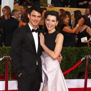 Keith Lieberthal, Julianna Margulies in 19th Annual Screen Actors Guild Awards - Arrivals