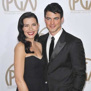 Julianna Margulies, Keith Lieberthal in 24th Annual Producers Guild Awards - Arrivals
