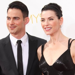Julianna Margulies in 66th Primetime Emmy Awards - Arrivals - lieberthal-margulies-66th-primetime-emmy-awards-01