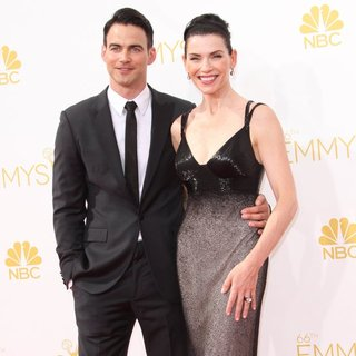 Julianna Margulies in 66th Primetime Emmy Awards - Arrivals - lieberthal-margulies-66th-primetime-emmy-awards-02