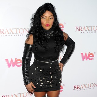 Lil' Kim - WE TV's Premiere of Braxton Family Values