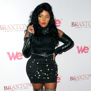 Lil' Kim in WE TV's Premiere of Braxton Family Values - lil-kim-premiere-braxton-family-values-04