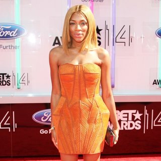 Lil Mama in The 2014 BET Awards - Arrivals