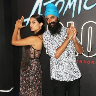 Lilly Singh in Atomic Blonde Premiere