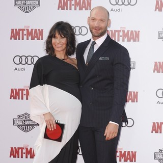 Evangeline Lilly, Corey Stoll in Premiere of Marvel's Ant-Man - Red Carpet Arrivals