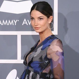Lily Aldridge in 54th Annual GRAMMY Awards - Arrivals