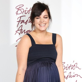 Lily Allen in The British Fashion Awards 2012 - Arrivals - lily-allen-british-fashion-awards-2012-02