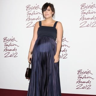 Lily Allen in The British Fashion Awards 2012 - Arrivals - lily-allen-british-fashion-awards-2012-03