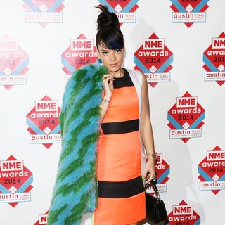 Lily Allen - The NME Awards 2014 - Arrivals