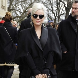 Lily Allen - Paris Fashion Week Fall-Winter 2017-2018 - Chanel - Outisde Arrivals