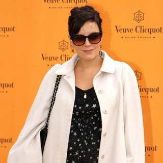 Lily Allen in The Veuve Clicquot Gold Cup Final - Arrivals