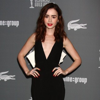 Lily Collins in 15th Annual Costume Designers Guild Awards