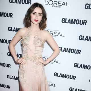 Lily Collins - Glamour Magazine's 23rd Annual Women of The Year Gala - Arrivals