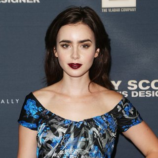 Lily Collins - Premiere of The Vladar Company's Jeremy Scott: The People's Designer