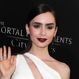 Lily Collins in Premiere of Screen Gems and Constantin Films' The Mortal Instruments: City of Bones - lily-collins-premiere-the-mortal-instruments-city-of-bones-01