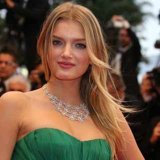 Lily Donaldson in Cosmopolis Premiere - During The 65th Annual Cannes Film Festival
