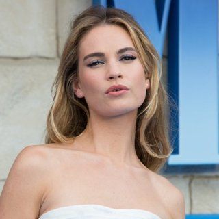 Lily James in The World Premiere of Mamma Mia! Here We Go Again - Arrivals