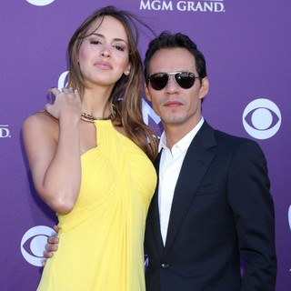 Shannon De Lima, Marc Anthony in 2012 ACM Awards - Arrivals