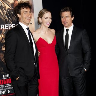Doug Liman, Emily Blunt, Tom Cruise in New York Premiere of Edge of Tomorrow - Arrivals