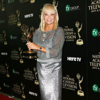 Linda Bell Blue in The 41st Annual Daytime Emmy Awards - Press Room