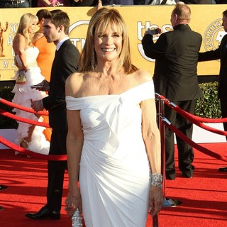 Linda Gray in The 18th Annual Screen Actors Guild Awards - Arrivals
