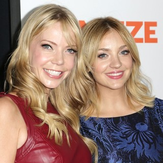 Riki Lindhome, Abby Elliott in The Premiere of Paramount Pictures' Fun Size - Arrivals