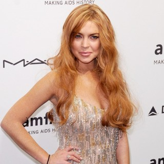 Lindsay Lohan in The amfAR Gala 2013
