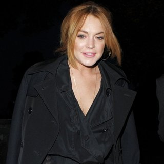 Lindsay Lohan in Lindsay Lohan at No1 Embankment Party