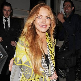 Lindsay Lohan - The i-D 35 x Jeremy Scott for Moschino Anniversary Party
