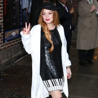 Lindsay Lohan in Lindsay Lohan Is Seen in New York City